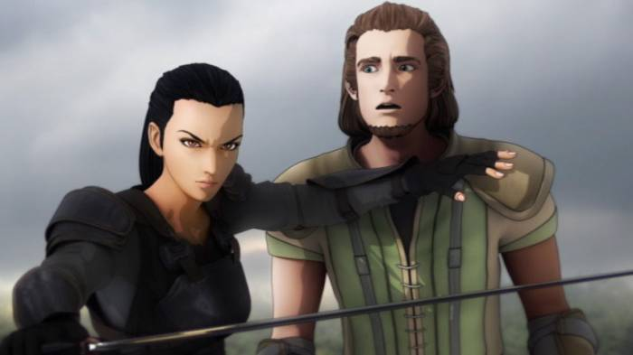 CGI Anime, Cassandra Pentaghast, Regalyan D'Marcall, Dragon Age: Dawn of the Seeker