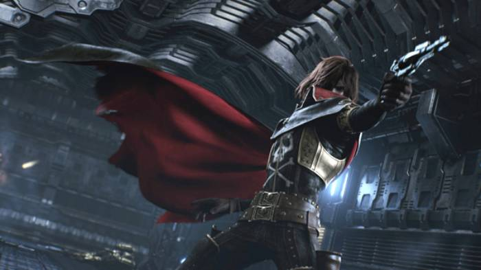 CGI Anime, Phantom Harlock, Captain Harlock, Space Captain Harlock