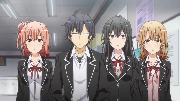 Anime from Light Novel My Teen romantic Comedy SNAFU