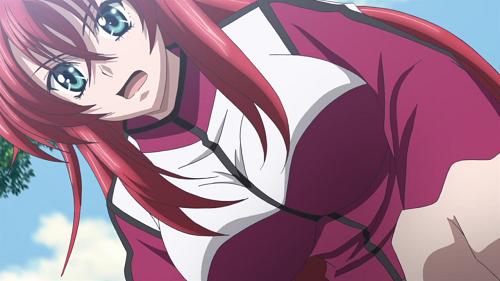 Rias Gremory, anime devil girl, High School DxD