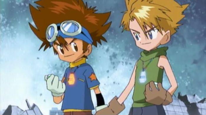 Digimon Adventure_Taichi (Tai), Yamato (Matt)