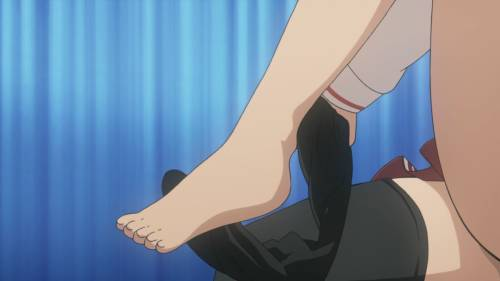 Sexiest Anime Feet, Aria Holmes Kanzaki, Hidan no Aria