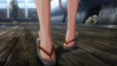 Sexiest Anime Feet, Mumei, Koutetsujou no Kabaneri
