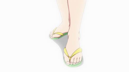 Sexiest Anime Feet, Mai Kawakami, Musaigen no Phantom World, Myriad Colors Phantom World