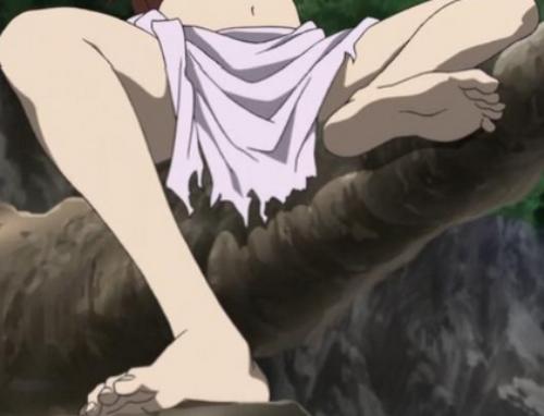 Sexiest Anime Feet, Hakaze Kusaribe, Zetsuen no Tempest, Blast of Tempest
