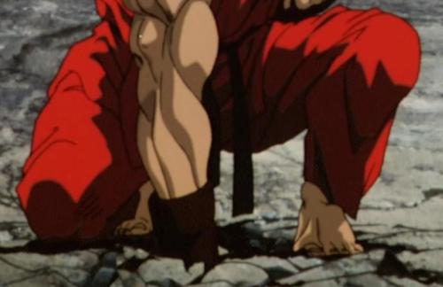 Sexiest Anime Feet, Ken Masters, Street Fighter II