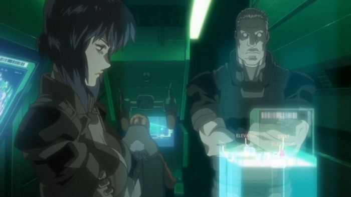 Ghost in the Shell Stand Alone Complex Kusanagi and Batou