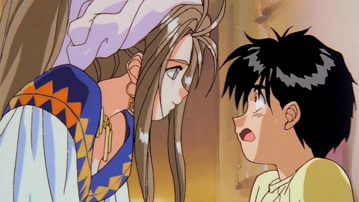 Ah My Goddess Belldandy Keiichi