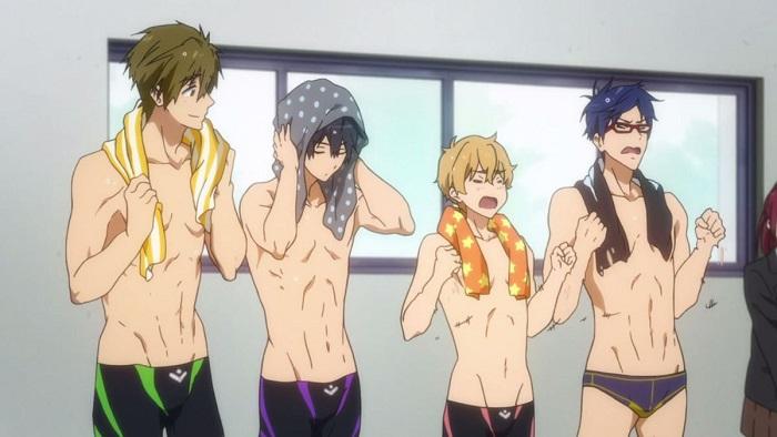 Free! Eternal Summer Sports Anime, Samezuka Academy team