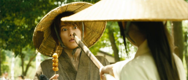 Kenshin movie Kenshin and Kaoru
