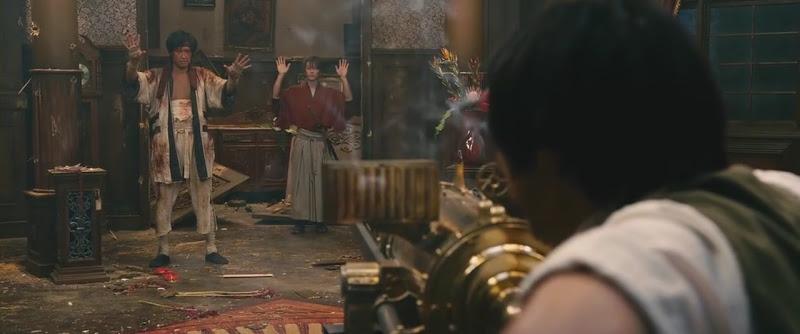 Kenshin movie Kenshin, Sano, and Takeda