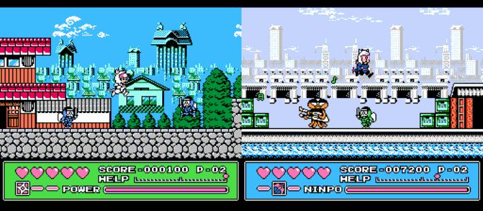 Retro Games Based On Anime, Kyattou Ninden Teyandee, Samurai Pizza Cats, NES