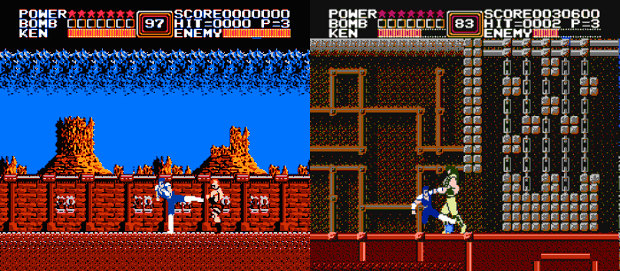 Retro Games Based On Anime, Fist of the North Star, NES