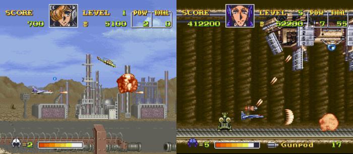 Retro Games Based On Anime, Area 88, U.N. Squadron, SNES
