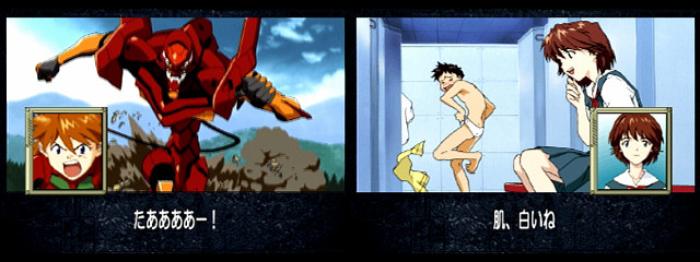 Retro Games Based On Anime, Shinseiki Evangelion: Koutetsu no Girlfriend, Sega Saturn