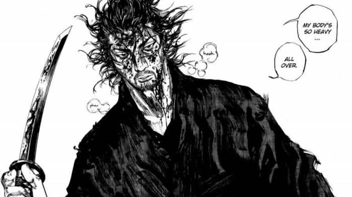 Best Mature Manga, Vagabond, Musashi Miyamoto