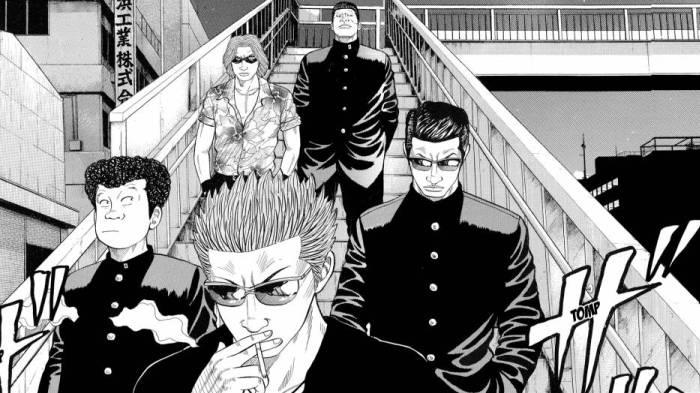 Crows, Harumichi Bouya, Futoshi Akutsu, Andou