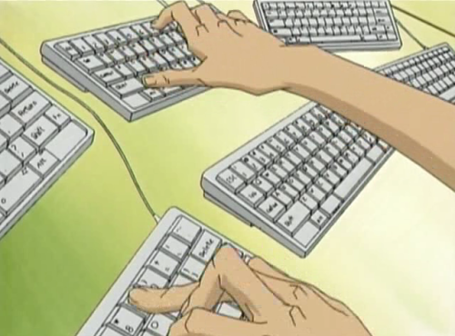 Best Anime Hackers, Akira Shirase, Battle Programmer Shirase