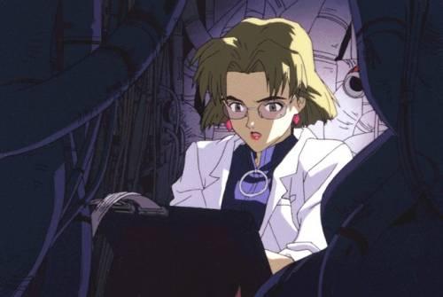 Best Anime Hackers, Ritsuko Akagi, Neon Genesis Evangelion