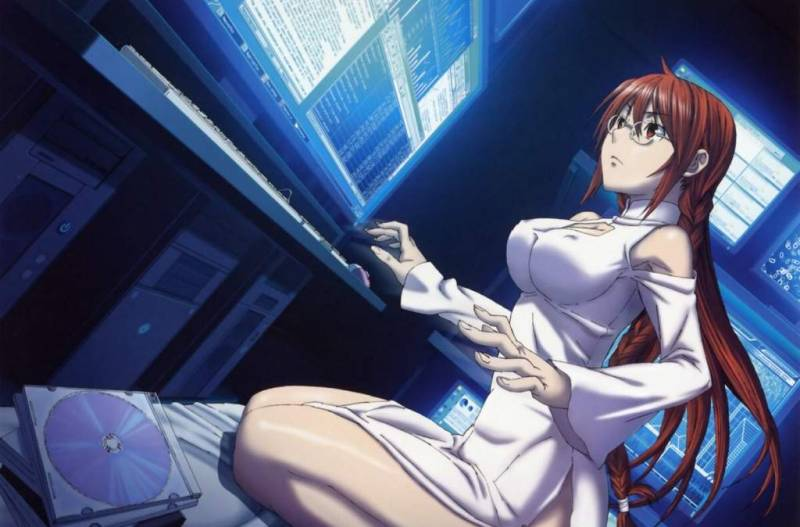 Best Anime Hackers, Matsu, Sekirei