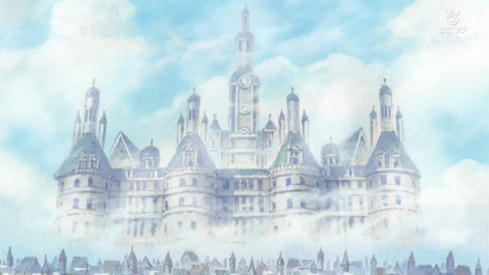 One Piece anime castle