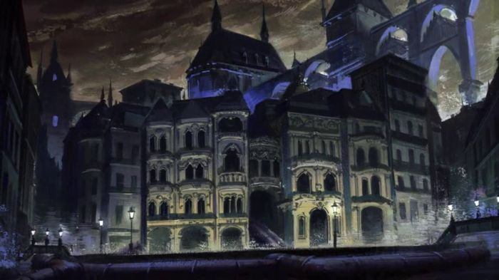 Owari no Seraph anime castle