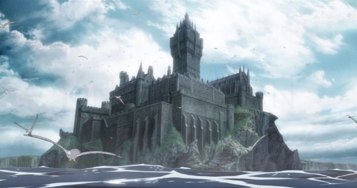 King of Thorn anime castle