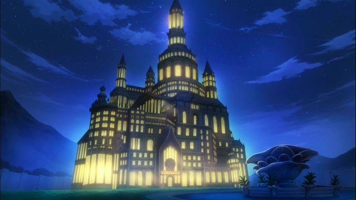 Fairy Tale anime castle