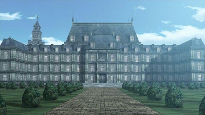 Hellsing anime castle