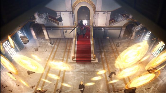 Fate stay night unlimited blade works anime castle