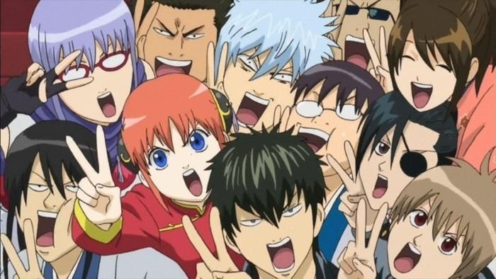 One Punch Man, Gintama, Yorozuya, Gin, Kagura, Shinpachi, Shinsengumi