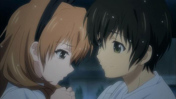 Kouko and Banri Golden Time