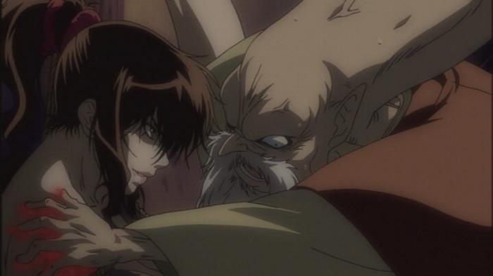 Basilisk violent anime