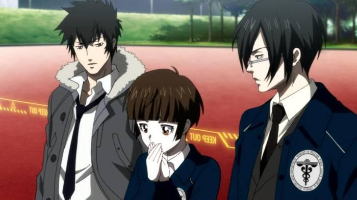 Mature Anime, Akane Tsunemori, Shinya Kougami, Nobuchika Ginoza, Psycho-Pass
