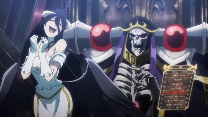 Mature Anime, Albedo, Momonga, Overlord