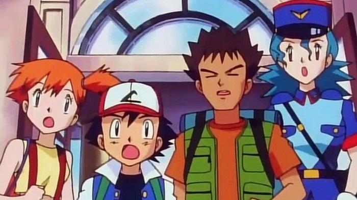 Pokemon Ash Misty Brock