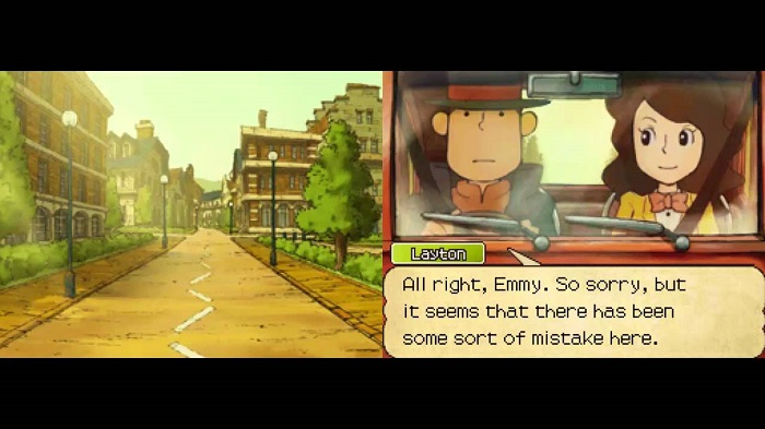 Professor Layton Game anime