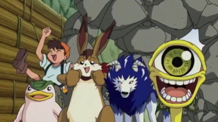 Monster rancher anime