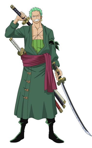 Zoro After Timelapse