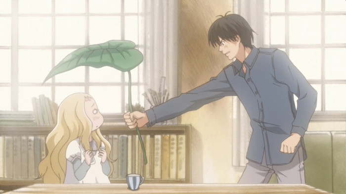 Honey and Clover morita and hagu