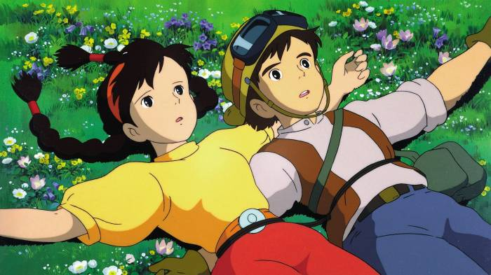 Action Romance Anime, Sheeta, Pazu, Tenkuu no Shiro Laputa, Castle in the Sky
