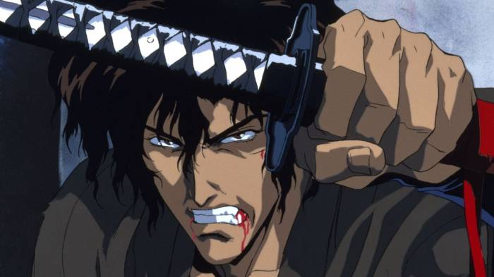 anime per adulti - samurai scroll