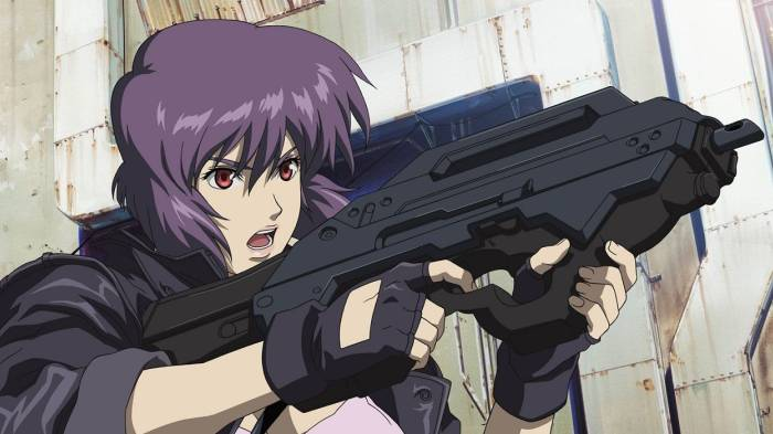 anime per adulti - ghost in the shell stand alone complex