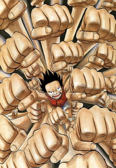Luffy multi punch
