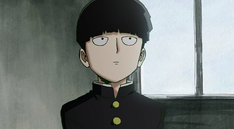 Shigeo looking bored