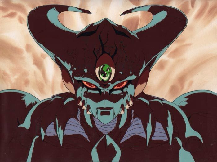 Genocyber, aka Vajra, in its first form. Genocyber is an ultimate biological weapon