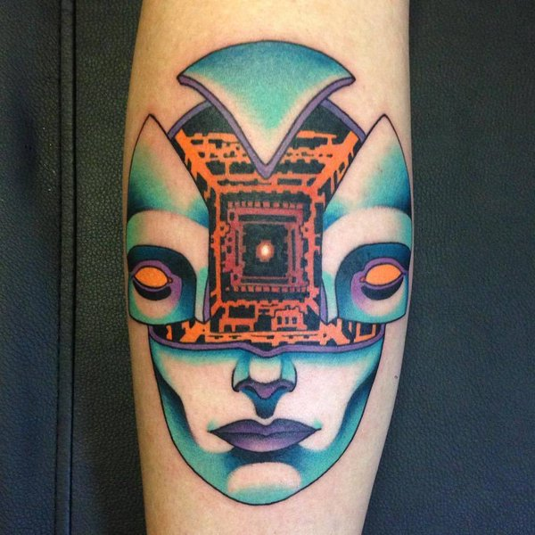Best Anime Tattoos - Ghost in the