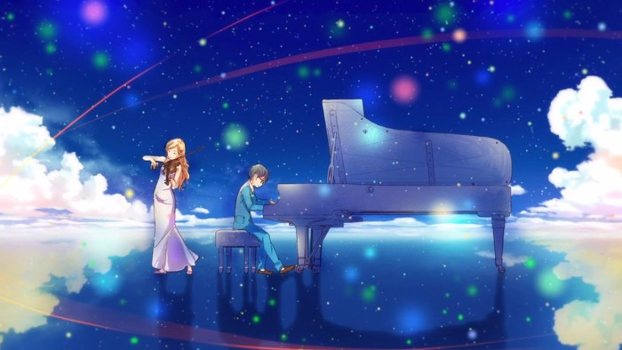Your Lie in April Music Scene