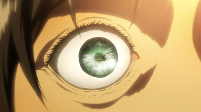 Attack on Titan eye screenshot