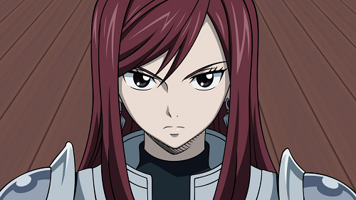 Top 10 Coolest Anime Characters of All Time - Erza Scarlet - Fairy Tail